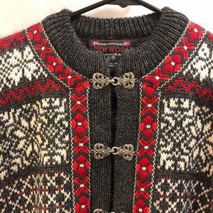Norwool Unisex Youth Cardigan Pure Wool